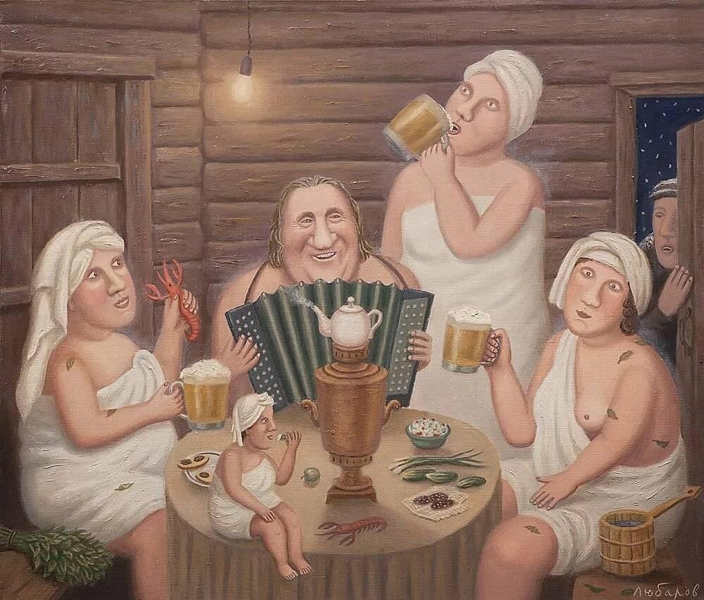 """Сценарий банной вечеринки с друзьями """"Жар веселью не помеха"""""""