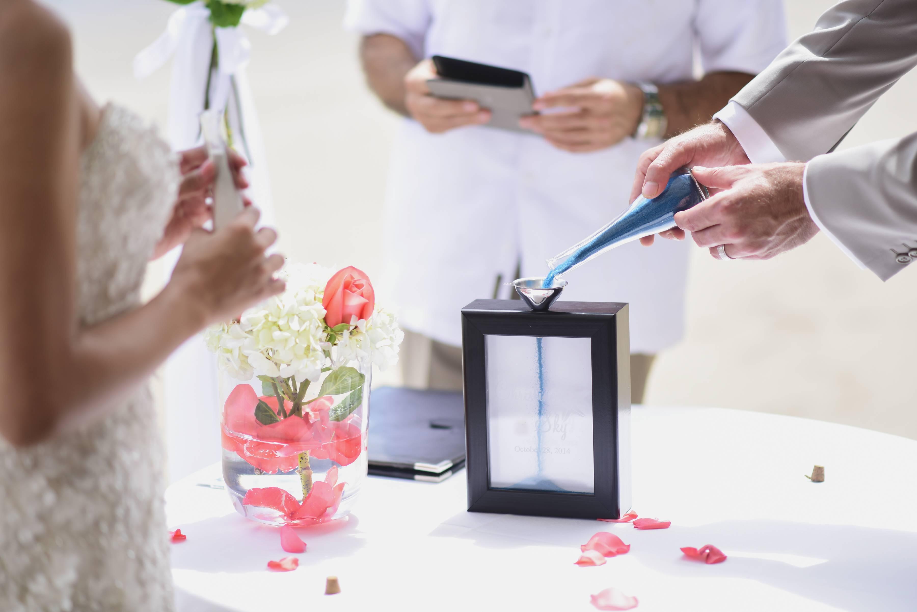 Песочная церемония на свадьбе Оригинальный сценарий проведения