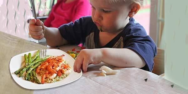 В каком возрасте ребёнку можно давать креветки