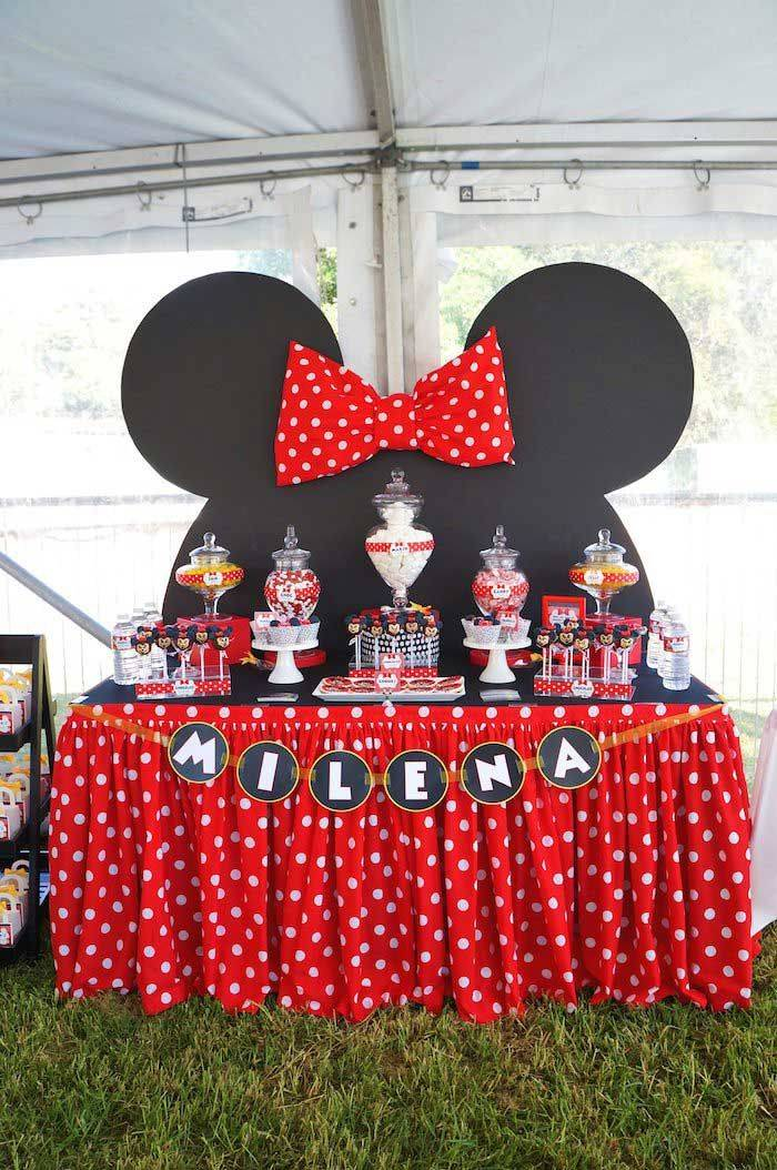 Как в мультике Диснея: день рождения в стиле Микки Маус