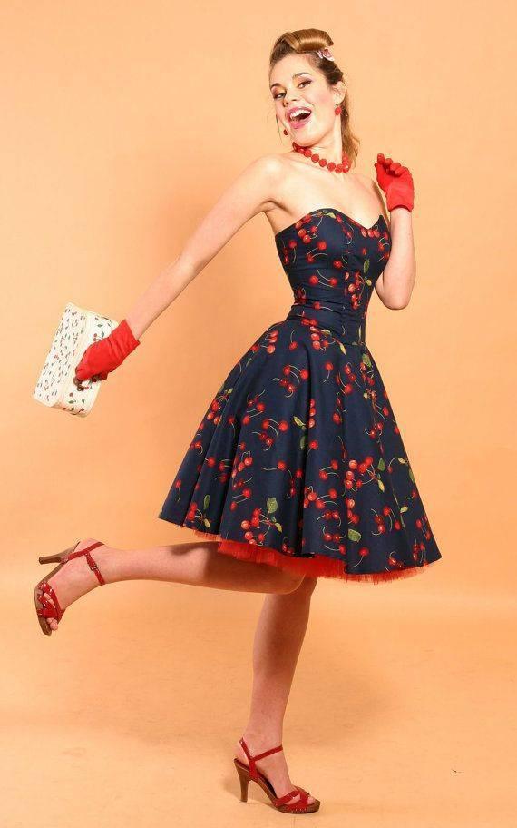 Как выбрать платье в стиле ретро для тематической вечеринки