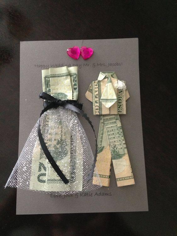 Подарки на свадьбу своими руками