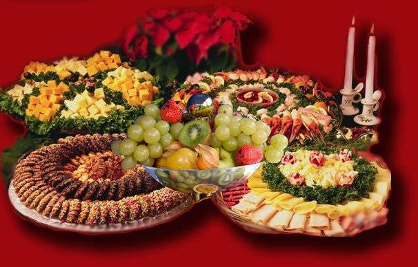 Праздничный стол на день рождения: вкусно, быстро и красиво!