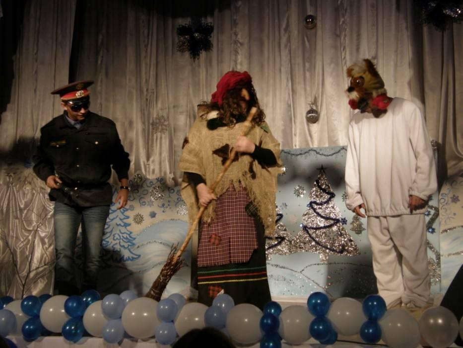 """Театрализованный сценарий к 23 февраля для школьников """"Как Баба-Яга свою дочь замуж выдавала"""""""