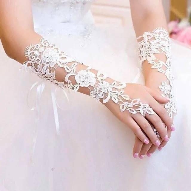 Свадебные перчатки для самой романтичной невесты — выбираем и шьем сами