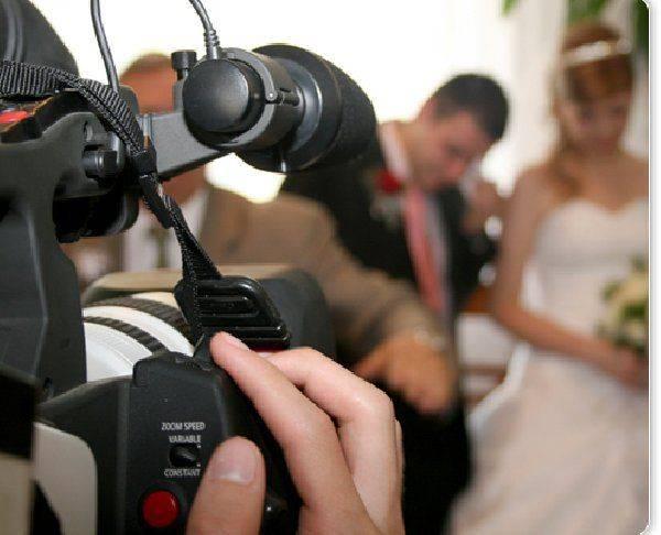 Видеооператор на свадьбу: советы молодоженам