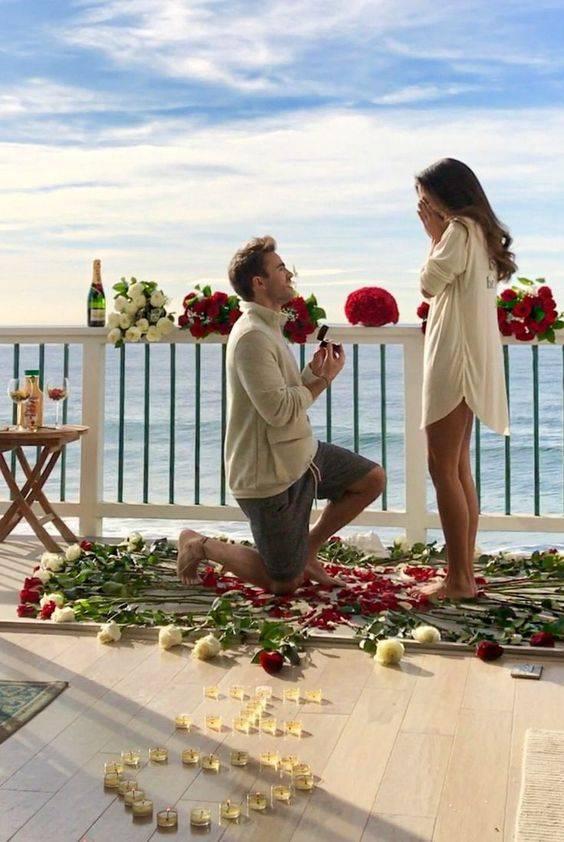 Чтобы она сказала «Да!», или Как сделать предложение девушке красиво