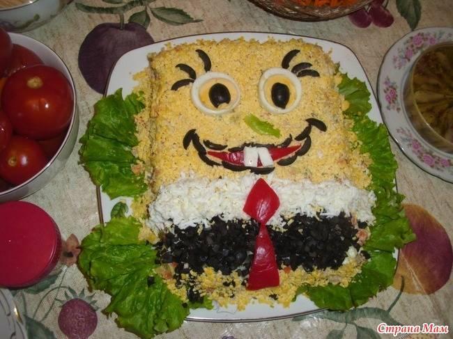 Самые красивые и вкусные детские салаты на день рождения