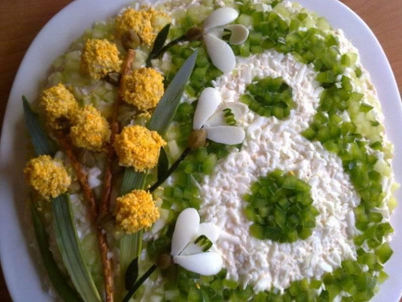 Красивые блюда на 8 Марта от мужчин