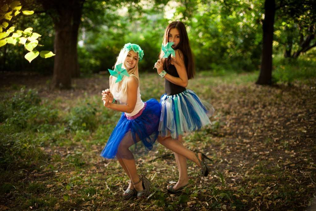 Юбка из фатина своими руками — для маленьких и больших принцесс