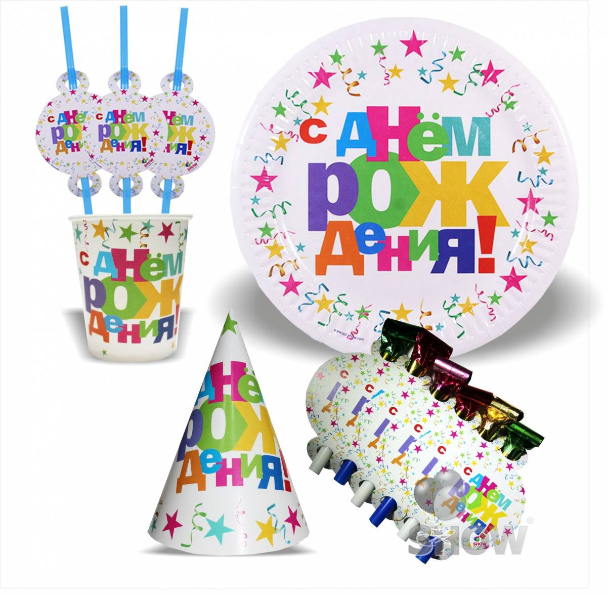 Оформляем день рождения ребенка стильно — готовые наборы для праздника