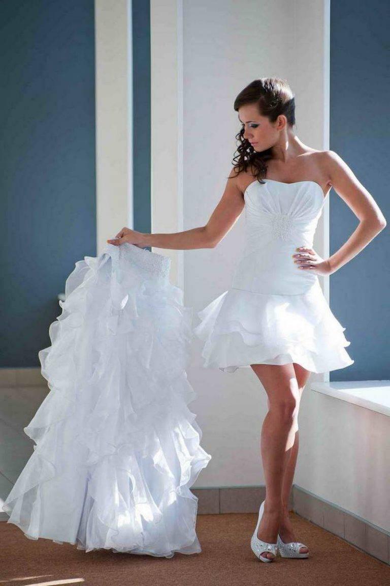Два неотразимых образа невесты. Свадебные платья-трансформеры