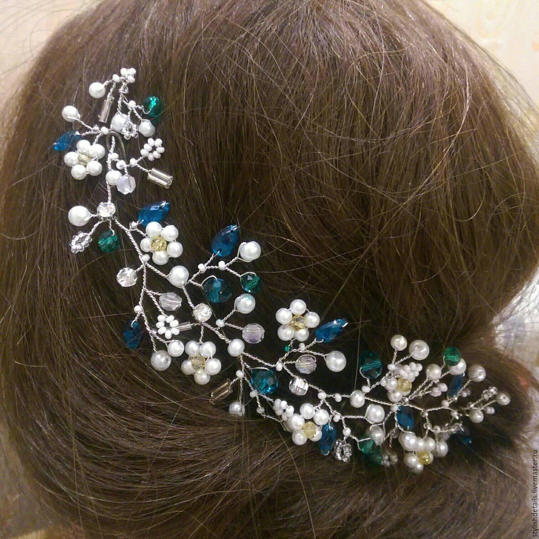 Украшения для волос своими руками — как создать праздную прическу